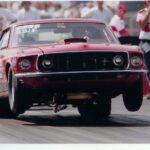 Red LeBlanc 69 Mustang