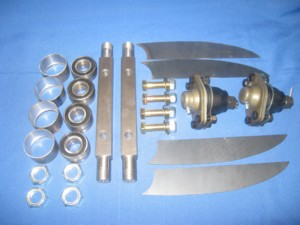 DIY Drag Racing Roller Upper Control Arm Kit