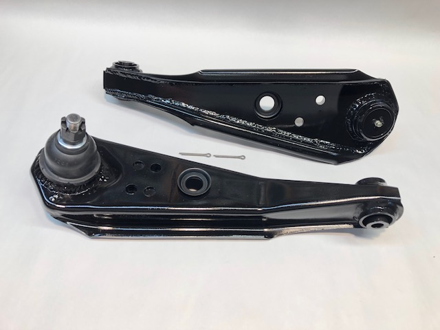 Road Racing Roller Lower Control Arms with screw in ball joint (65-66  Mustang) - ( 63-65 V8 Falcon Comet)