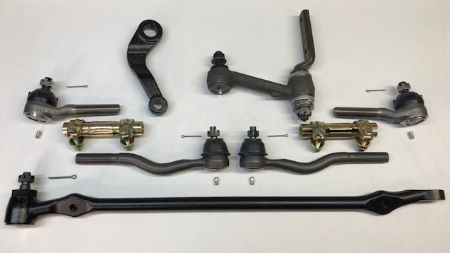 falcon comet 6cyl to v8 steering kit (1963 all with v8 spindle) (1964 up to 6 10 64 with v8 spindle)Conversion Kit Power Steering V8 Borgeson Fairlane Ranchero #11