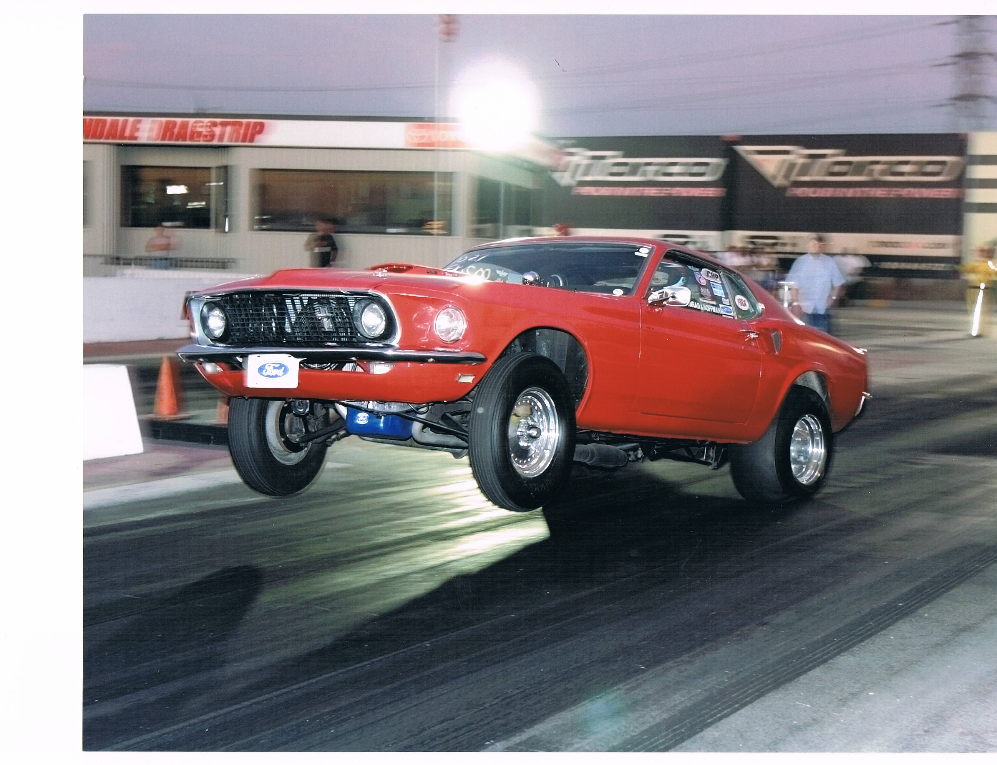 Drag racing full roller front suspension later 60s mustang falcon comet fairlane cougar maverick opentracker racing products