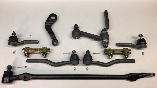 Falcon / Comet 6cyl to V8 Steering Kit - (1964 after 6/10/64 with V8  Spindle) - (1965 - All with V8 Spindle)